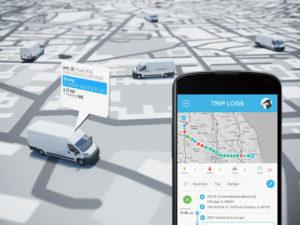 el seguimiento de flotas por GPS